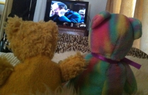 Kizzme and Pals Take in an Sunday Afternoon Movie...