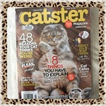 Collectible Edition Catster Magazine May / June 2015 Volume 1, No. 1 ~No More Fleas, Please! (The Birman & The Donskoy)