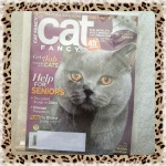 Cat Fancy Magazine September 2010 ~ Help for Seniors (British Shorthair & Cymric)