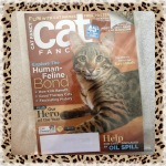 Cat Fancy Magazine November 2010 ~ Human Feline Bond (Savannah & Kurilian Bobtail)